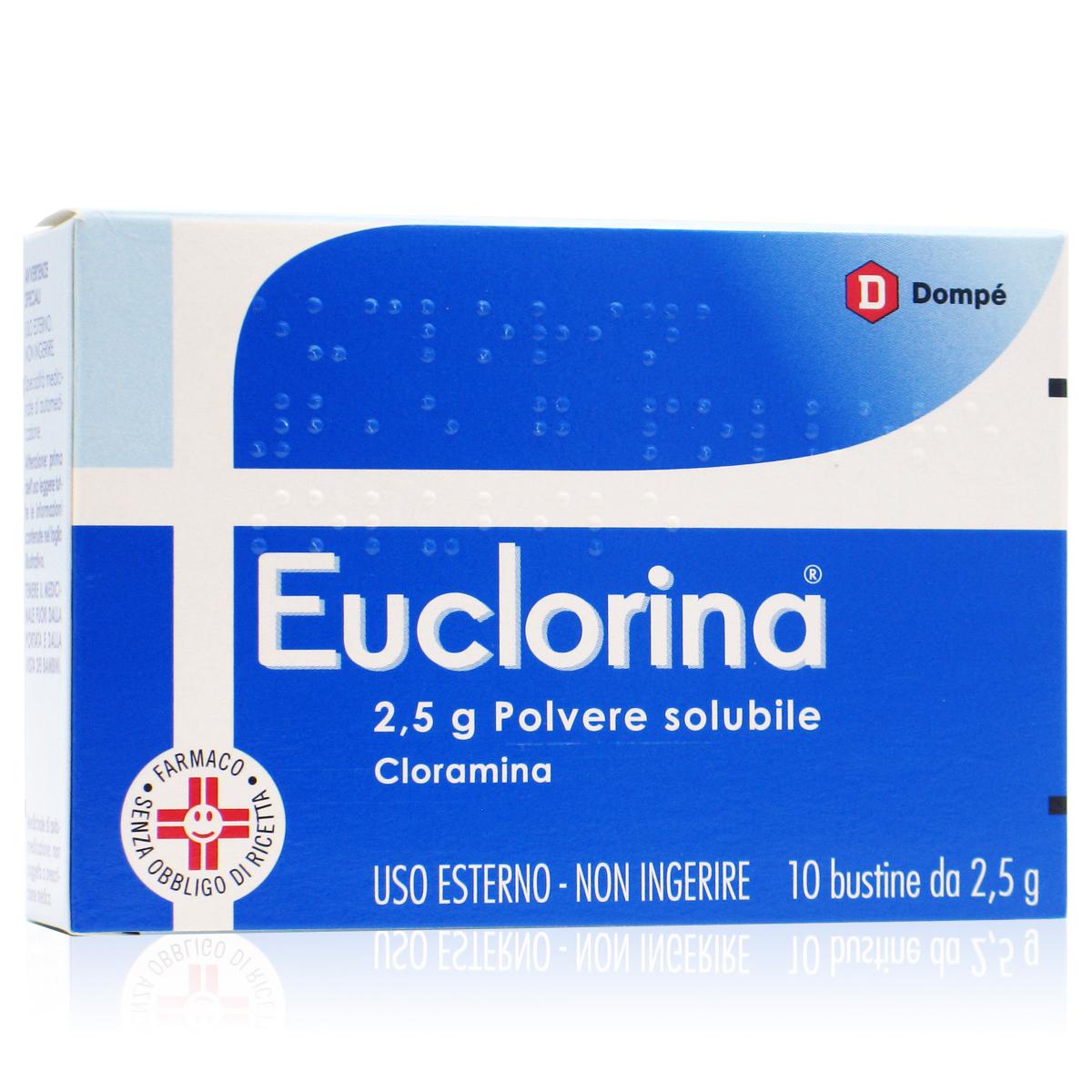 Euclorina 25 g Polvere Solubile