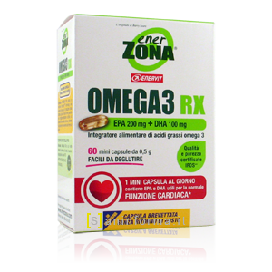 Enerzona Omega 3 RX Olio Di Pesce 0.5 g