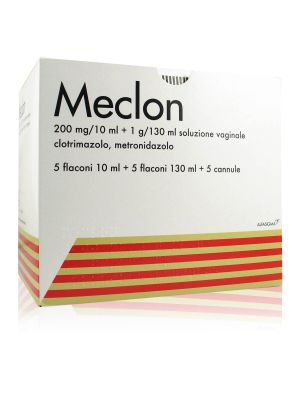 Meclon Clotrimazolo, Metronidazolo Soluzione Vaginale