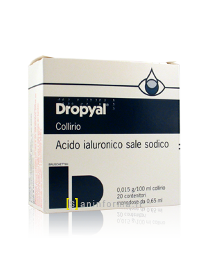 Dropyal 0,015 g/100 ml Collirio
