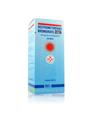 Destrometorfano Bromidrato Zeta 30 mg/10 ml Sciroppo