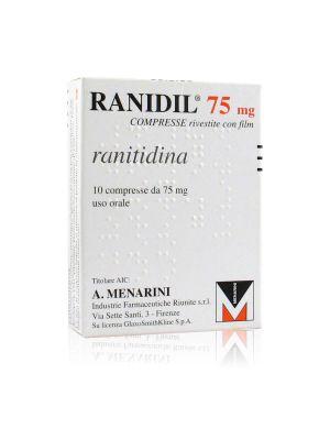 Ranidil 75 mg Compresse