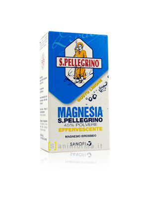 Magnesia San Pellegrino Polvere effervescente gusto limone