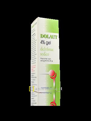 Dolaut gel spray 4% flacone con erogatore