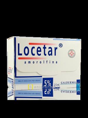 Locetar Amorolfina Smalto Medicato Per unghie 5%