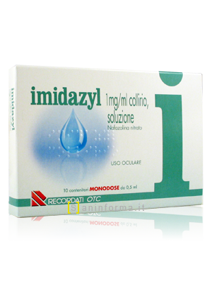 Imidazyl Collirio soluzione monodose ml0,5