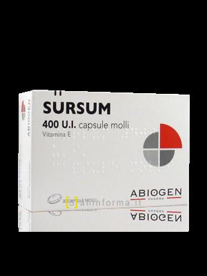 Sursum 400 UI capsule molli