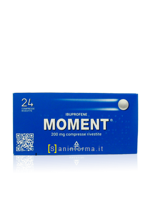 Moment 200 mg 24 compresse