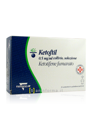 Ketofil 0,5 mg/ml Collirio