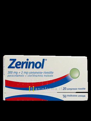 Zerinol 300mg + 2mg compresse rivestite