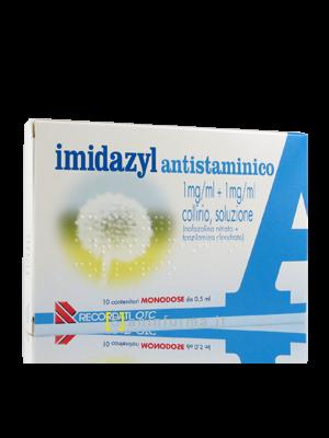 Imidazyl Antistaminico 1 mg/ml + 1 mg/ml Collirio Soluzione Contenitori Monodose