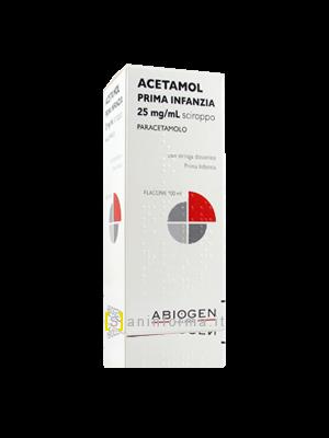Acetamol Prima Infanzia 25 mg/ml Sciroppo