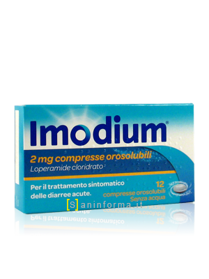 Imodium cpr orosolubili 2mg