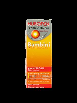 Nurofen febbre - dolore bambini sciroppo. ml150