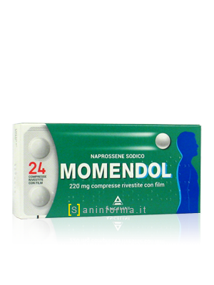 Momendol 220 mg Compresse Rivestite