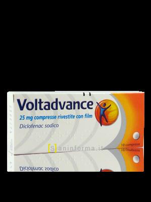 Voltadvance mg25 compresse