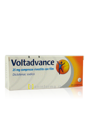 Voltadvance 25 mg Compresse Rivestite