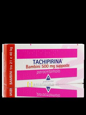 Tachipirina Supposte Bambini 500mg