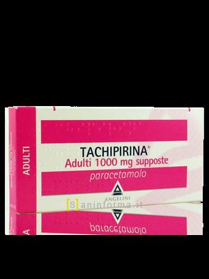 Tachipirina supposte adulti 1g