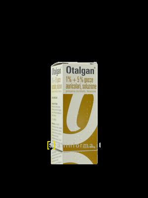 Otalgan 1%+5% Gocce Auricolari, Soluzione