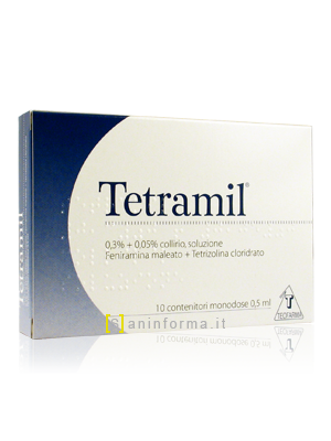 Tetramil Collirio Monodose ml 0,5