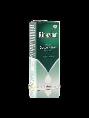 Rinazina 1 mg/ml Gocce Nasali Soluzione