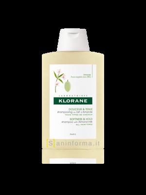 Klorane Shampoo Morbidezza e Tenuta al Latte di Mandorla