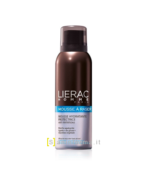 Lierac Homme Mousse Rasatura Idratante Anti-Irritazioni