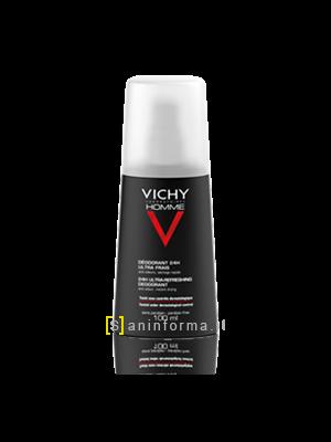 Vichy Homme Deodorante Vaporizzatore Ultra-Fresco