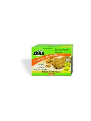 EnerZona Cracker al Farro ricetta Mediterranea