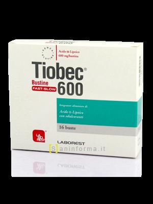 Tiobec 600 Bustine Fast-Slow