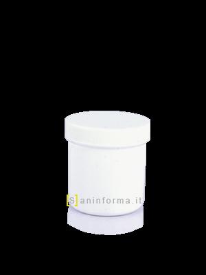 Vasetto Bianco Tappo a vite cc 200