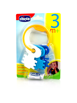 Chicco Chiavi Colorate 3m+