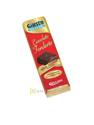Giusto Senza Zucchero Cioccolato Fondente