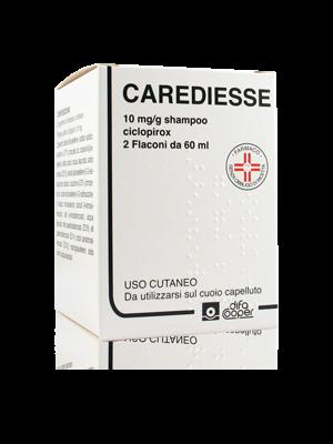 Carediesse 10 mg/g Shampoo Ciclopirox