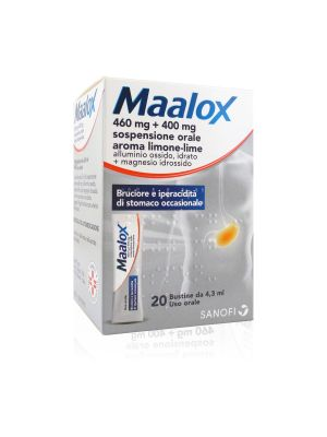 Maalox 460 mg + 400 mg Sospensione Orale