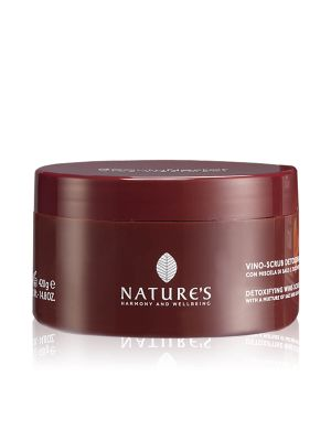Nature's Beauty Nectar Vino Scrub Detossinante
