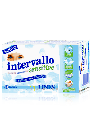 Intervallo Sensitive Salvaslip