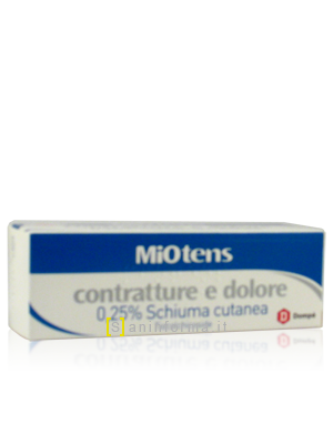 MiOtens Contratture e Dolore 0,25% Schiuma Cutanea