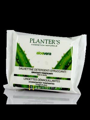 Planter's Salviettine Detergenti Struccanti all'Aloe Vera