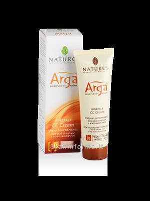 Nature's Arga' CC Crema Uniformante SPF15 Medio Scuro