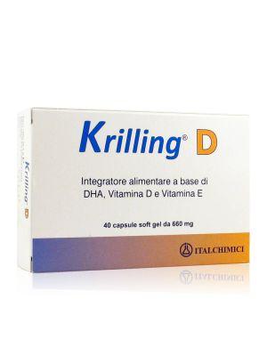 Krilling D Capsule Soft Gel da 660 mg
