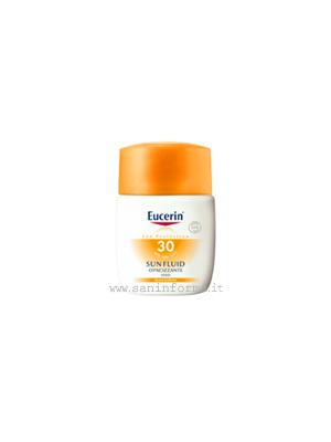 Eucerin Sun Fluid Opacizzante Viso SPF30