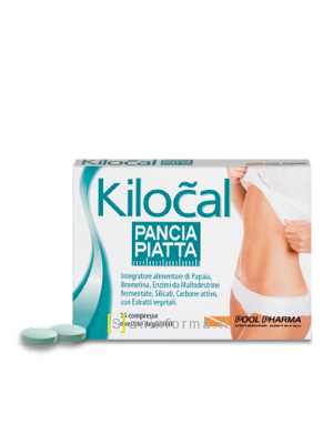 Kilocal Pancia Piatta Compresse