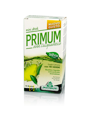 Primum Dren Mini Drink Gusto Limone
