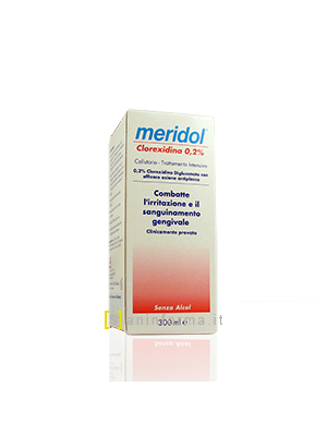 Meridol Cullutorio Clorexidina 0,2%