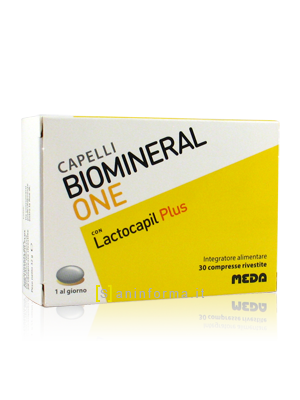 Biomineral One con Lactocapil Plus