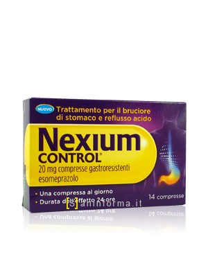 Nexium Control Compresse Gastrointestinali