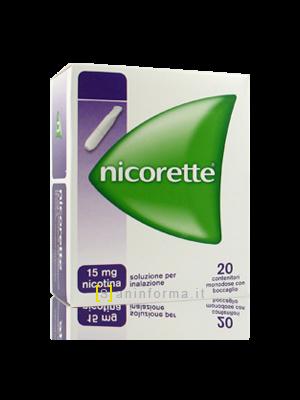 Nicorette 15 mg Soluzione per Inalazione