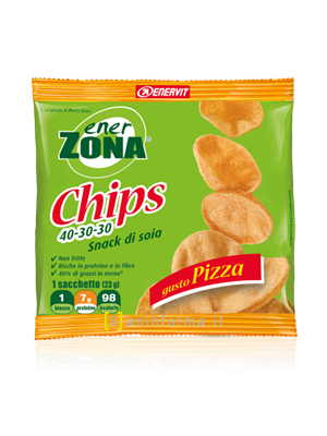 Enerzona Chips 40-30-30 Pizza 1 Busta